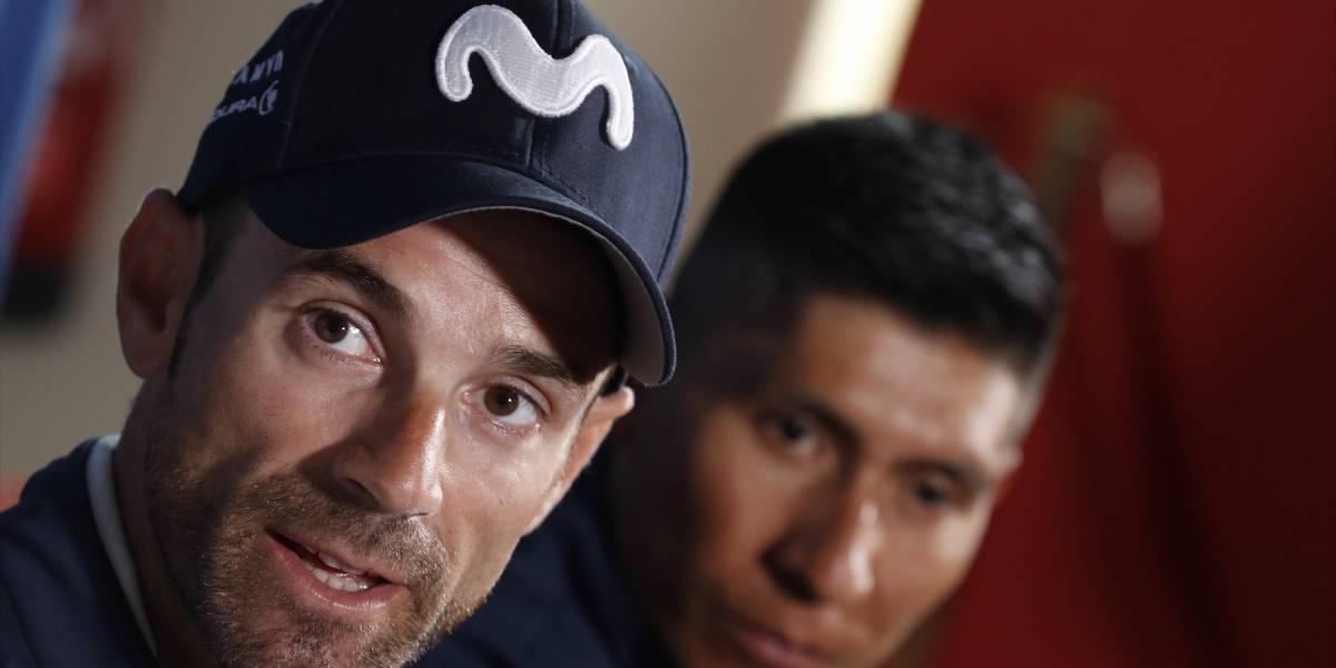 Valverde reveló la verdadera razón sobre por qué Nairo dejó de ser el líder del Movistar