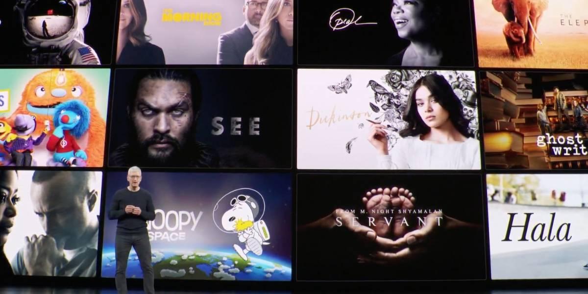 """Apple Event: La competencia de Netflix """"Apple TV +"""" y el servicio de videojuegos """"Apple Arcade"""" ya tienen fecha"""