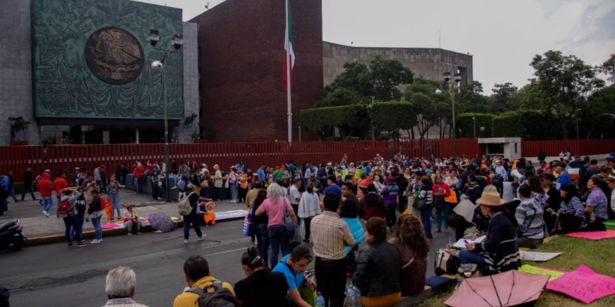 Desalojan a legisladores en San Lázaro por amenaza de la CNTE