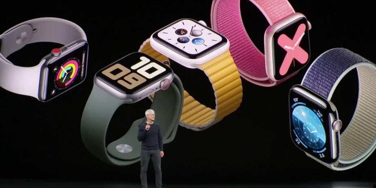 Apple Event: Nuevo Apple Watch contará con brújula, su pantalla estará siempre encendida y su batería durará todo el día