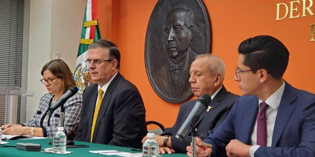 Estrategia migratoria de México funcionó y es irreversible: Ebrard