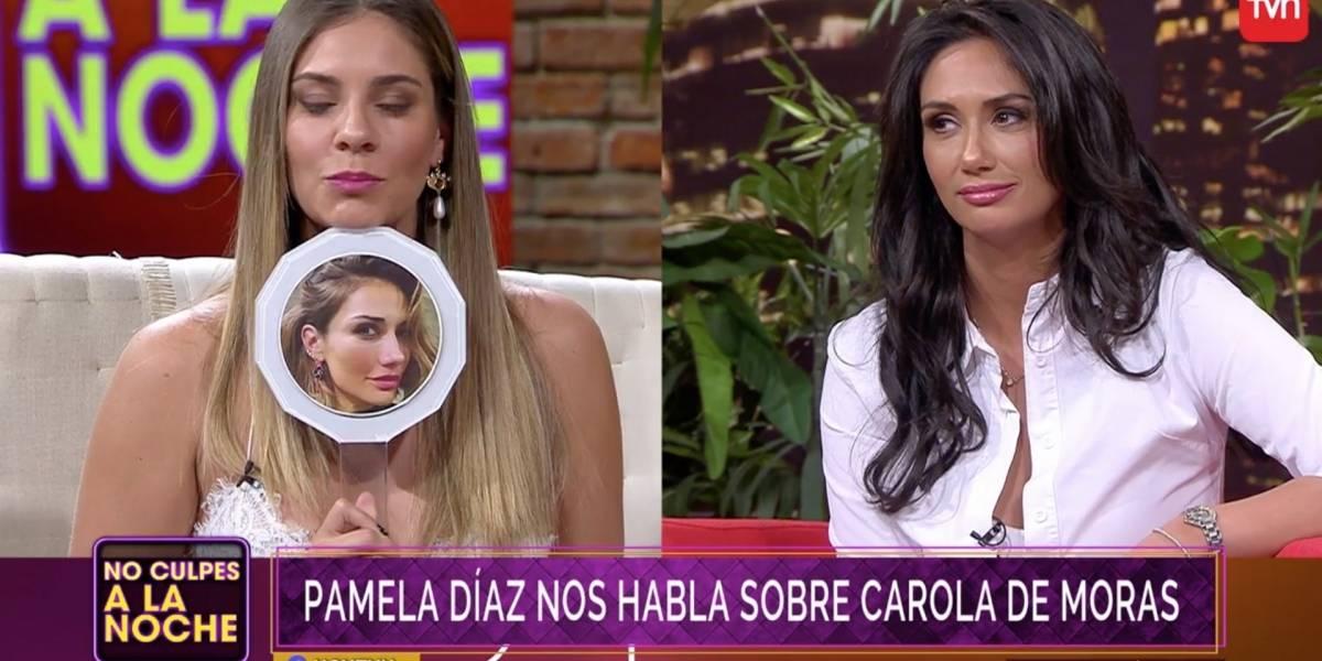 """Pamela Díaz y su mala relación con Carola de Moras: """"Trabajé 3 años con ella sin saludarnos"""""""