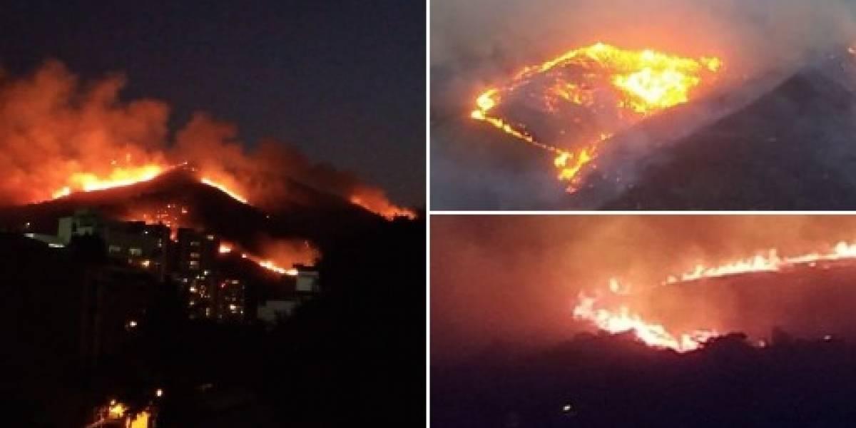 El grave incendio en Cali que tiene en alerta por cercanía con el zoológico