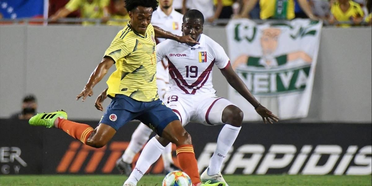 ¡Siguen las dudas! Colombia, con más ganas que buen fútbol, empató contra una pálida Venezuela