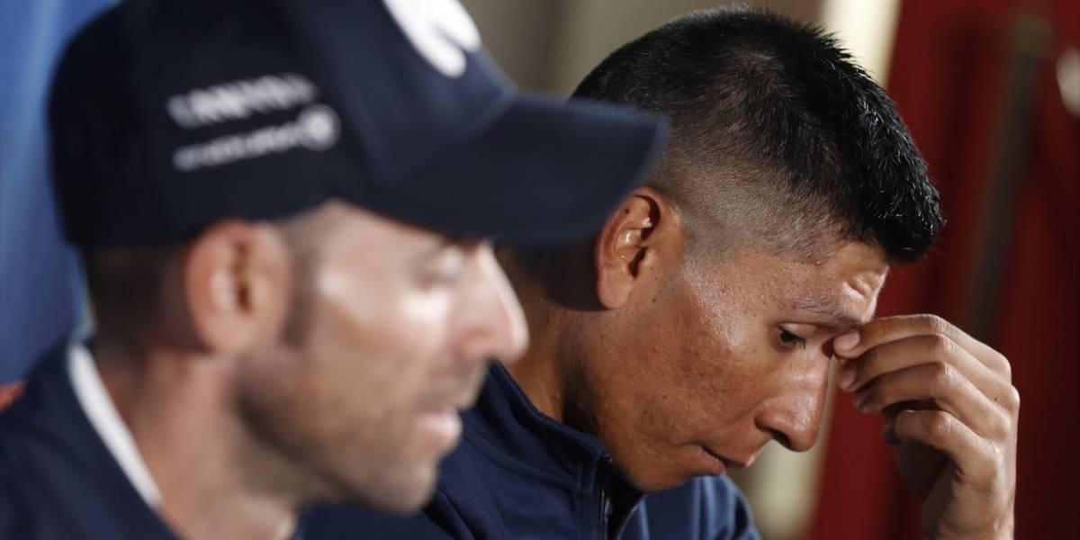 Las palabras de impotencia de Nairo Quintana que llenan de tristeza al país