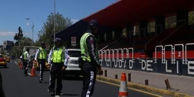 'Hoy no Circula' en Quito