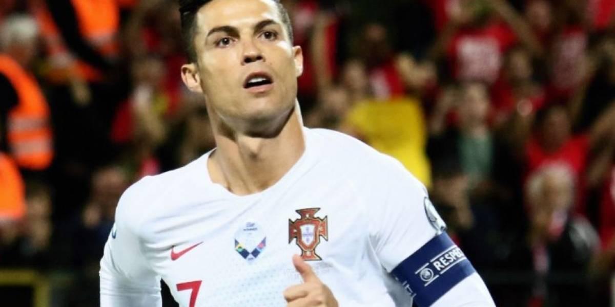 VIDEO. Cristiano Ronaldo se luce en la eliminatoria de la Eurocopa con cuatro goles