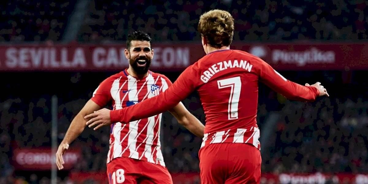 'El sueño de Griezmann era jugar con Messi': Diego Costa