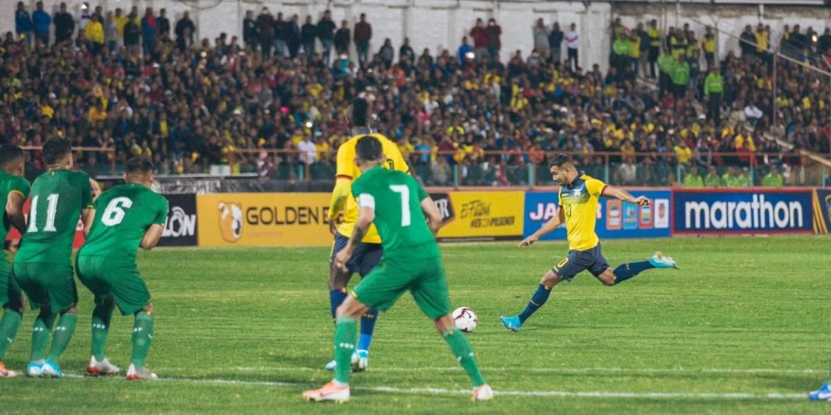 Ecuador se impuso en su segundo partido de la era de Jorge Célico