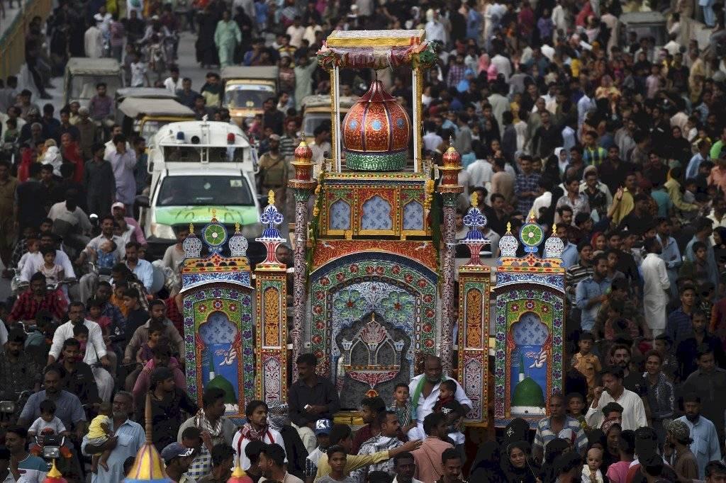 Celebraciones religiosas en Irak