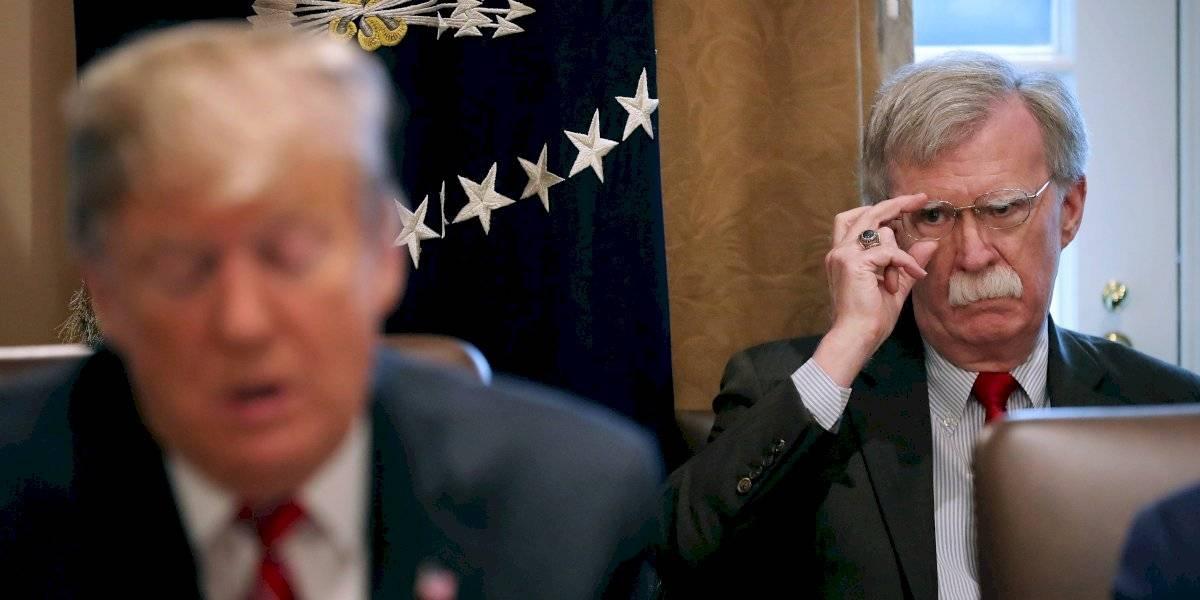 Donald Trump despide a John Bolton, asesor de Seguridad Nacional