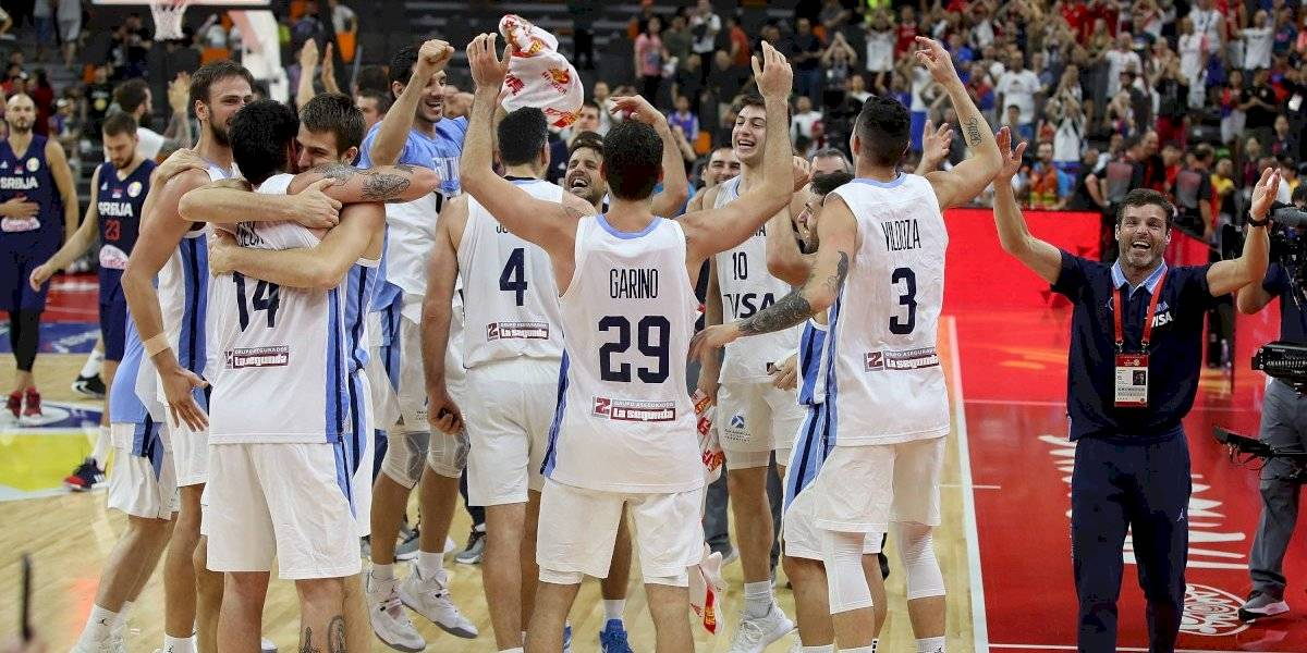 Argentina vence en un brillante partido a Serbia y se mete en semifinales del Mundial de Básquetbol