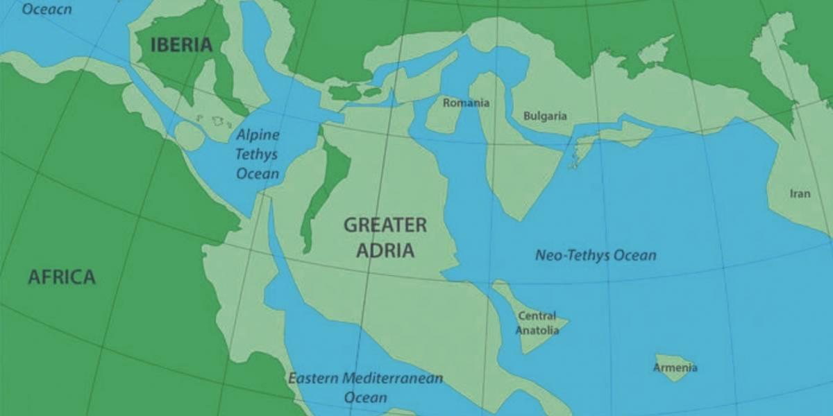 Científicos hallan restos de un continente perdido que fue devorado por Europa