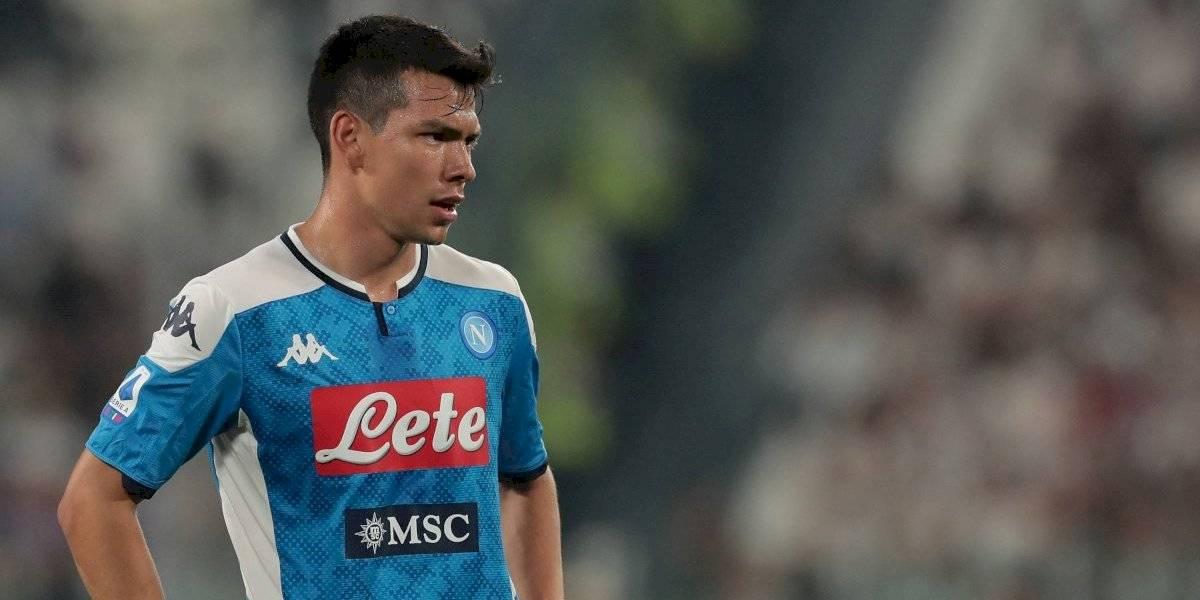 'Chucky' Lozano fuera del XI de los jugadores mejores pagados de la Serie A