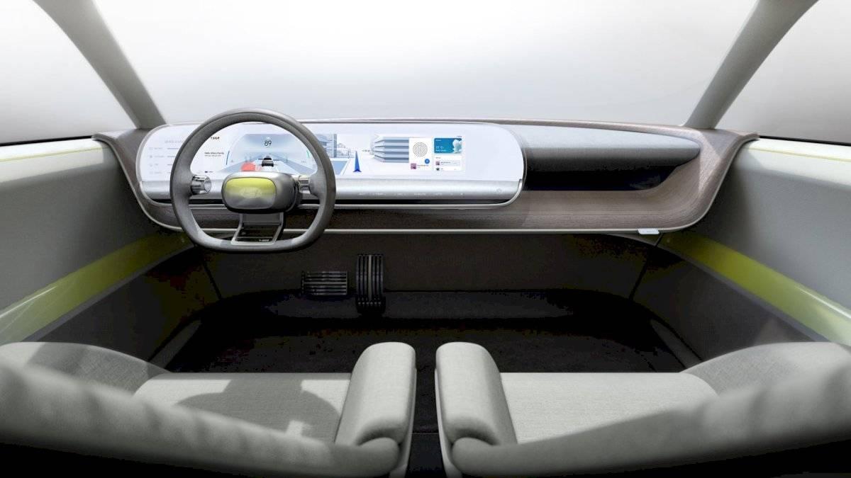 Diseño interior de Hyundai 45, el nuevo concepto de la marca. Cortesía