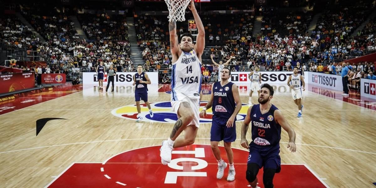 Argentina sorprende al eliminar a los grandes favoritos de Serbia