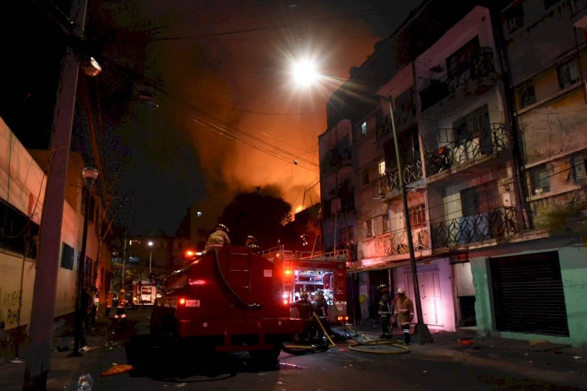 Incendio Tepito