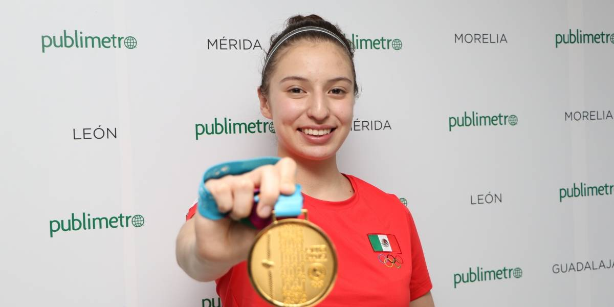 """Daniela Souza: """"Detrás de cada medalla hay muchos sacrificios y un gran trabajo"""""""