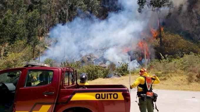 Incendio en El Placer