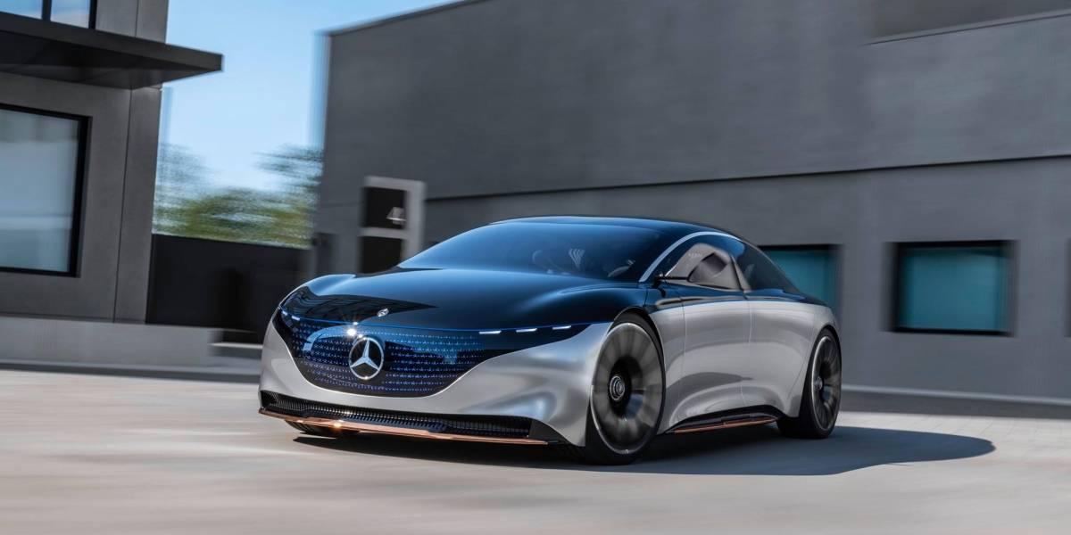 La limusina del futuro: Mercedes-Benz Vision EQS