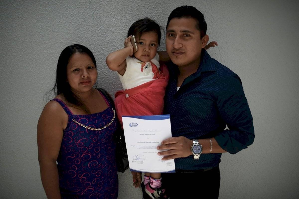 Miguel Ángel Coc, guatemalteco retornado