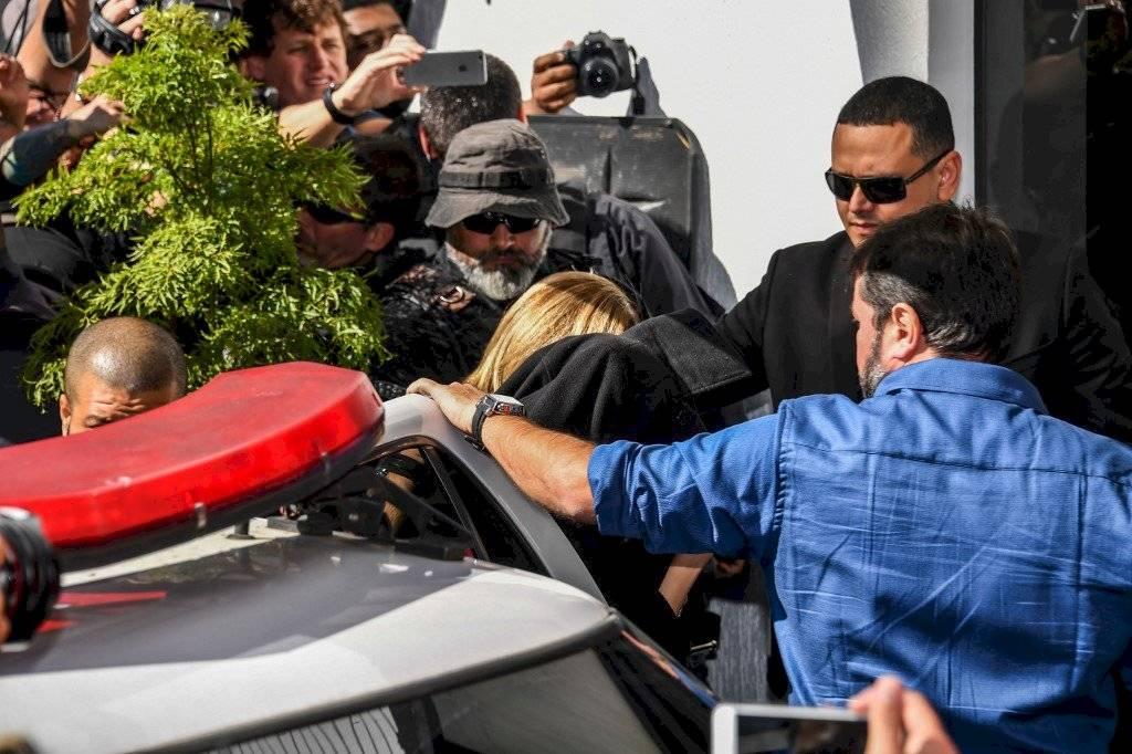Modelo Najila Trindade acusada extorsión y calumnia a Neymar