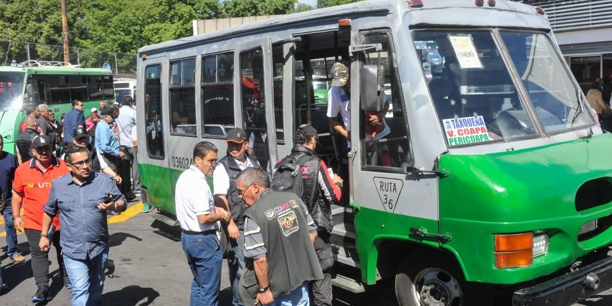 Estas son las 16 rutas de transporte público más peligrosas en CDMX