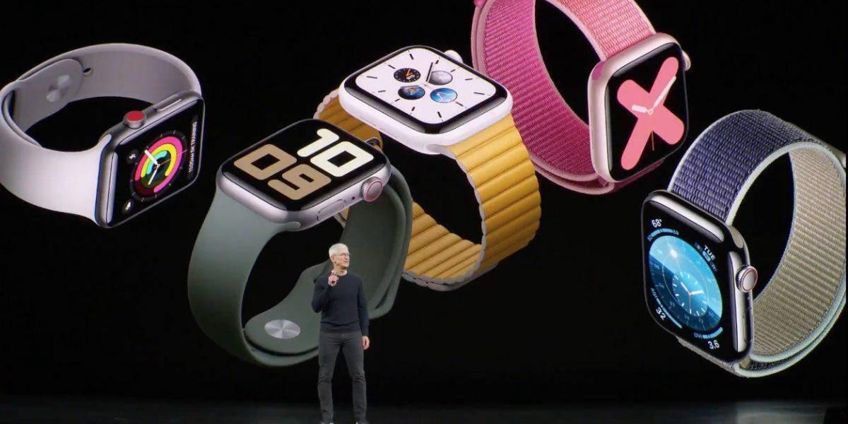 Este es el nuevo Apple Watch Series 5, con always on display
