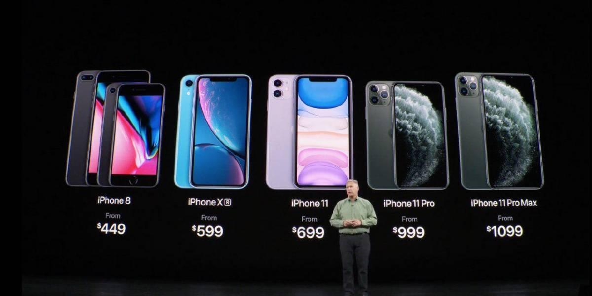 iPhone 11 precio: Esto costarán en Chile los nuevos celulares de Apple