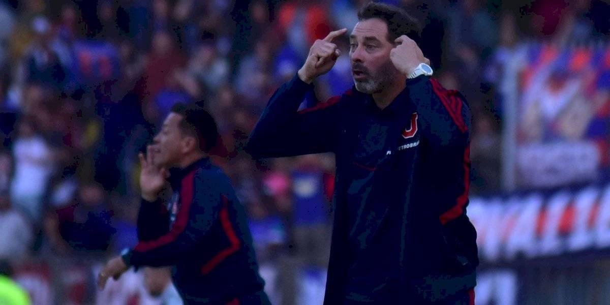Caputto busca revivir a la U con la misma fórmula del Clásico Universitario ante Unión Española