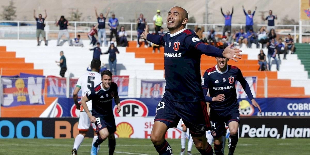 """Marcos Riquelme se sincera en la U: """"El hecho de convertir un gol me sacó la presión"""""""