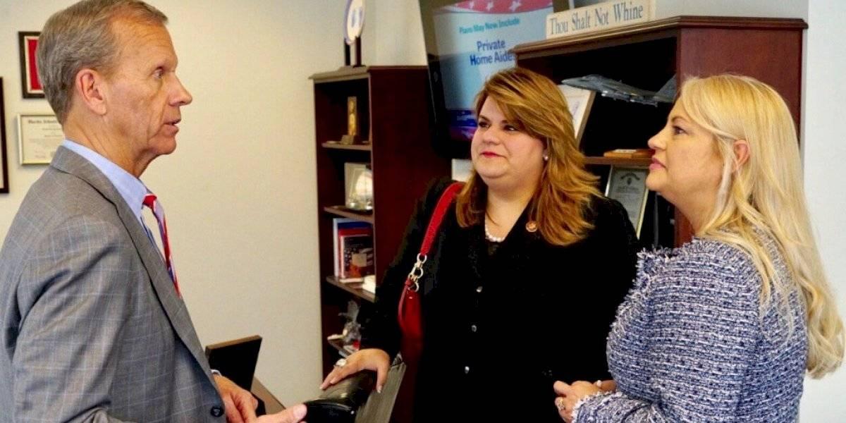 Gobernadora Wanda Vázquez continúa su agenda en Washington