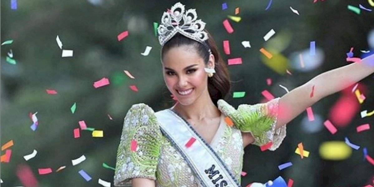 Miss Universo cambia de corona tras accidente con Catriona Gray