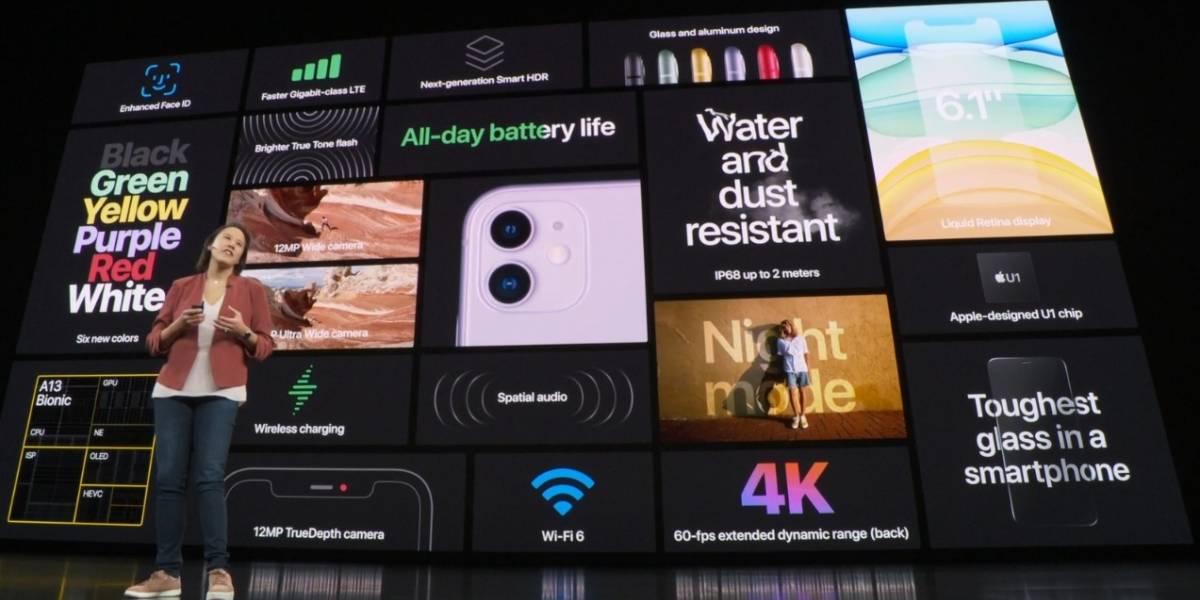 Apple presenta los nuevos iPhone 11, iPhone 11 Pro y iPhone 11 Max