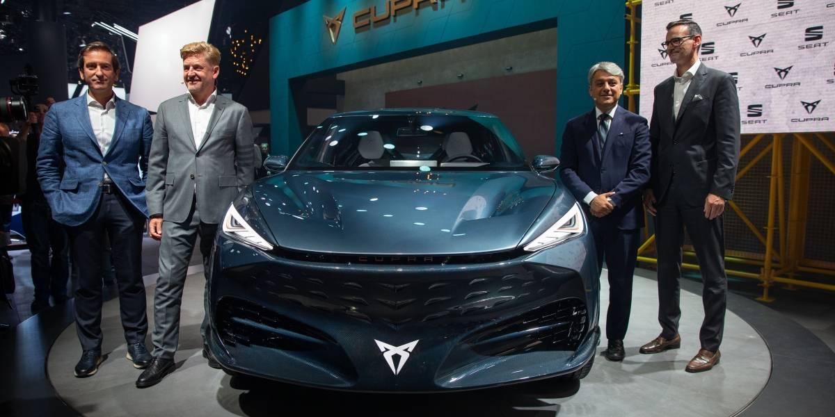 SEAT presenta en Frankfurt su ofensiva eléctrica y Tavascan, el primer eléctrico de Cupra