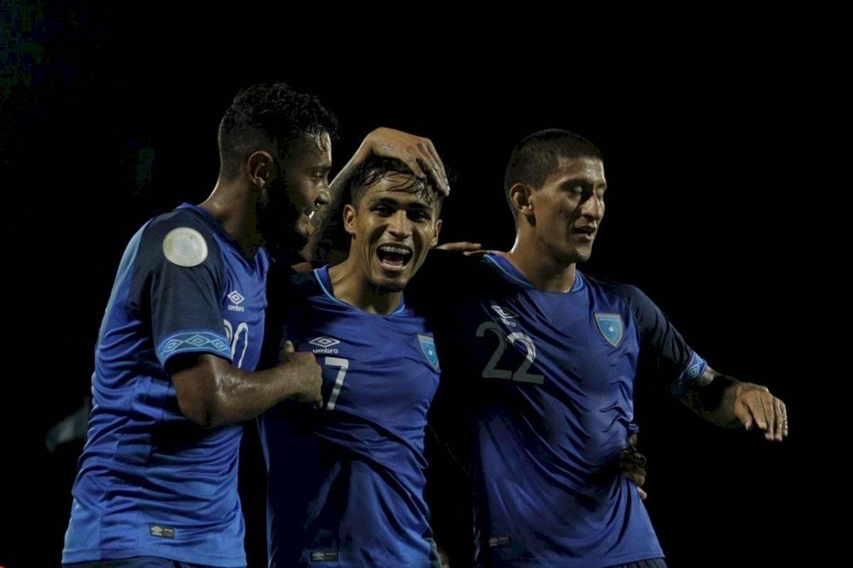 Selección Nacional de Guatemala en su visita a Puerto Rico