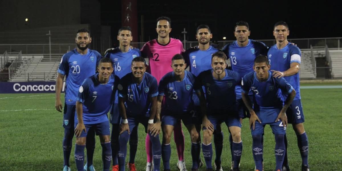 Así jugaría Guatemala contra Anguila en la Liga de Naciones
