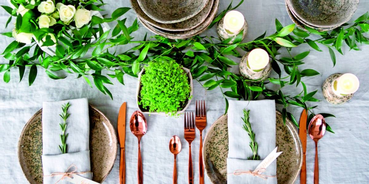 Menaje: el arte de poner la mesa