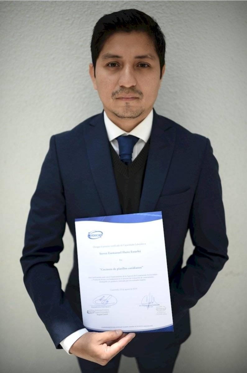 Steven Huitz, guatemalteco retornado