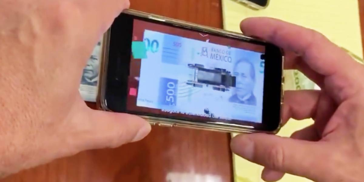 México: ¿Realmente funcionará la Realidad Aumentada para identificar los billetes falsos?