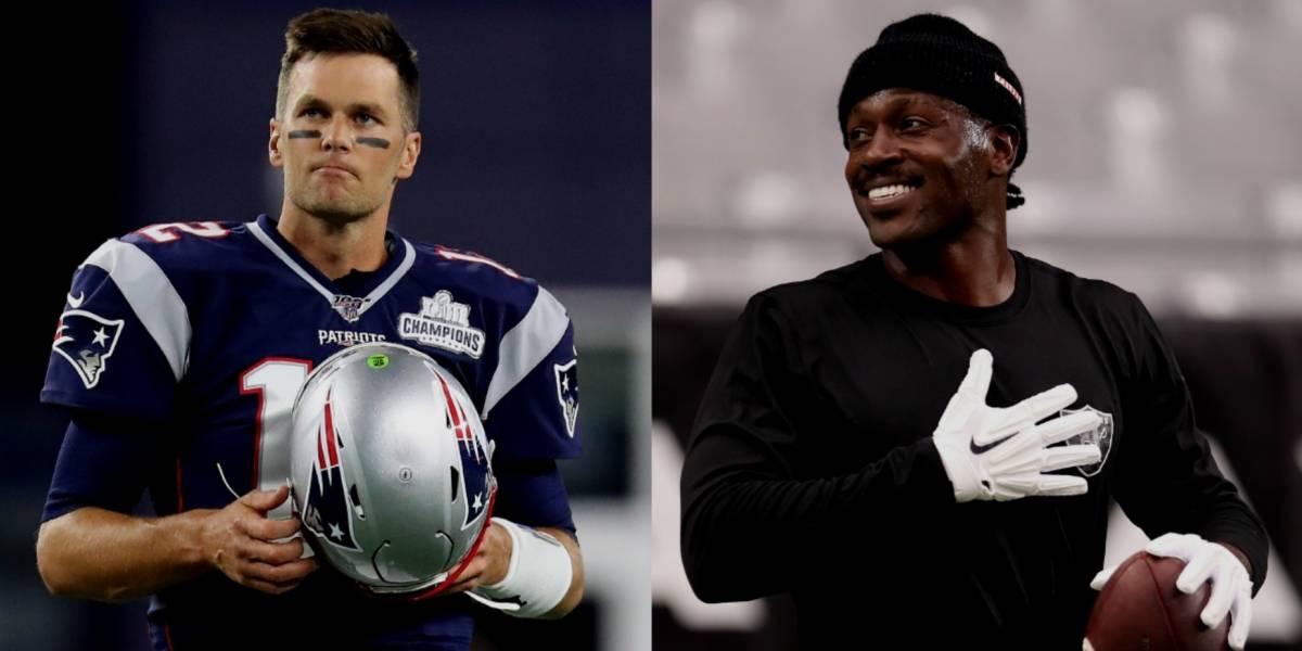 ¡Su nuevo 'roomie'! Tom Brady ofrece su casa para hospedar a Antonio Brown