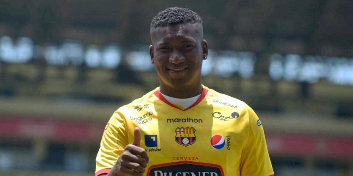 Macará dice que fichó a Jhon Jairo Cifuente 15 días antes que Barcelona SC