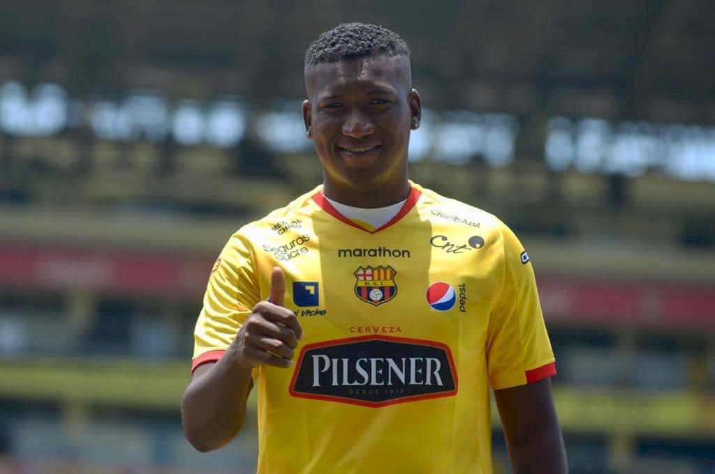 Jhon Jairo Cifuente es el nuevo jugador de Barcelona SC API