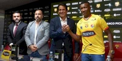 Jhon Jairo Cifuente es el nuevo jugador de Barcelona SC