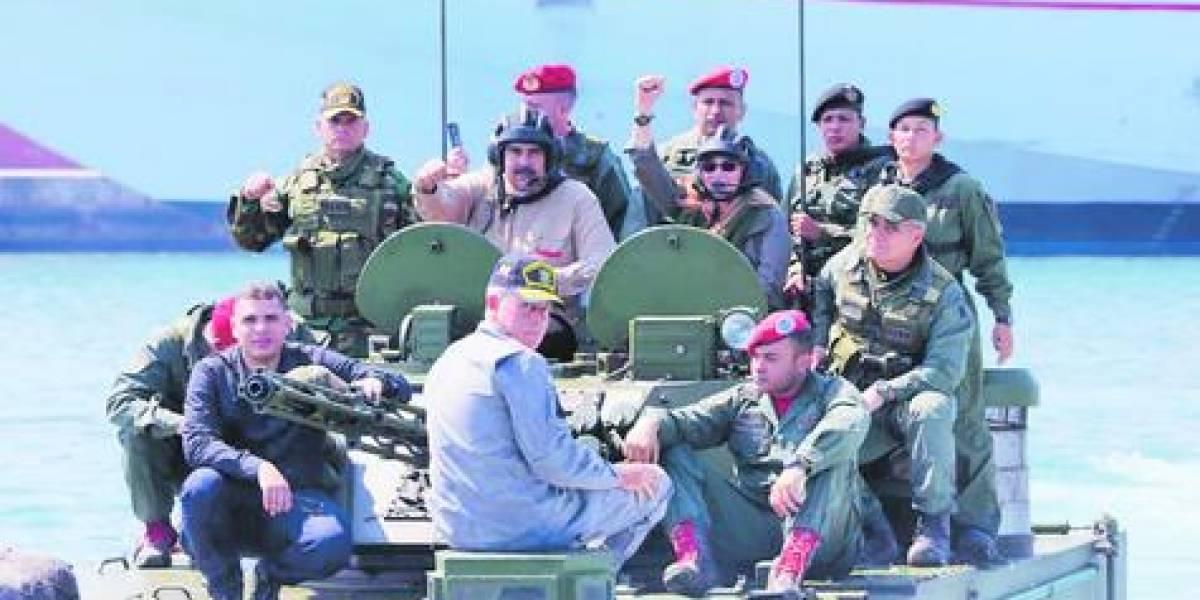 """""""Alerta máxima"""" tras inicio de los ejercicios militares en Venezuela"""