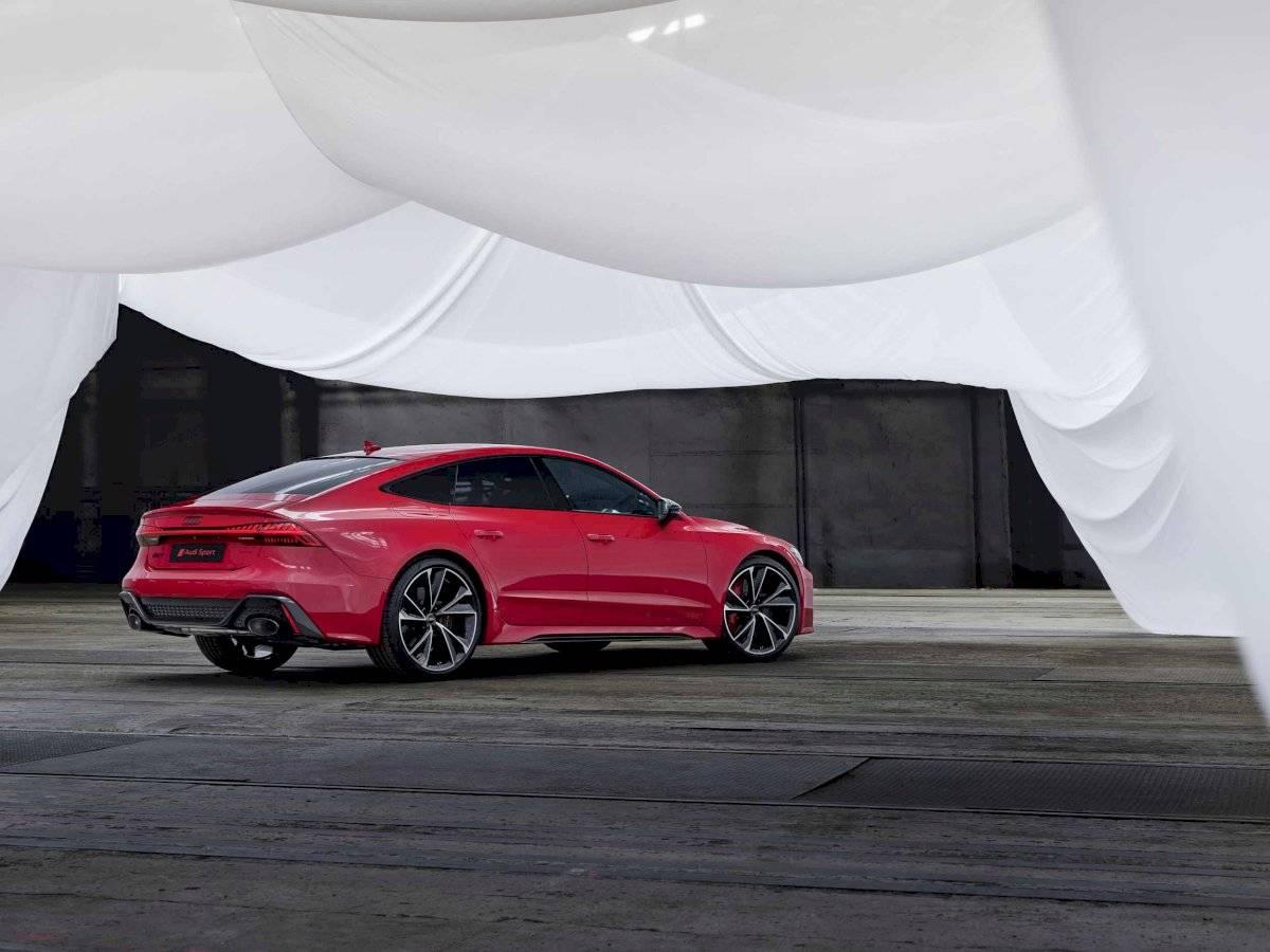Audi RS 7 Sportback vista general cortesía