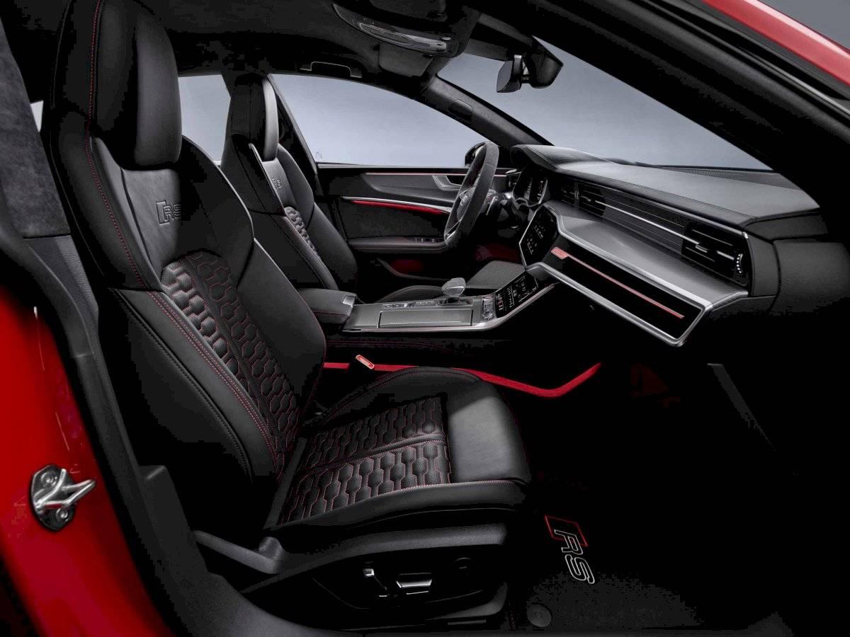 Audi RS 7 Sportback interiores Cortesía