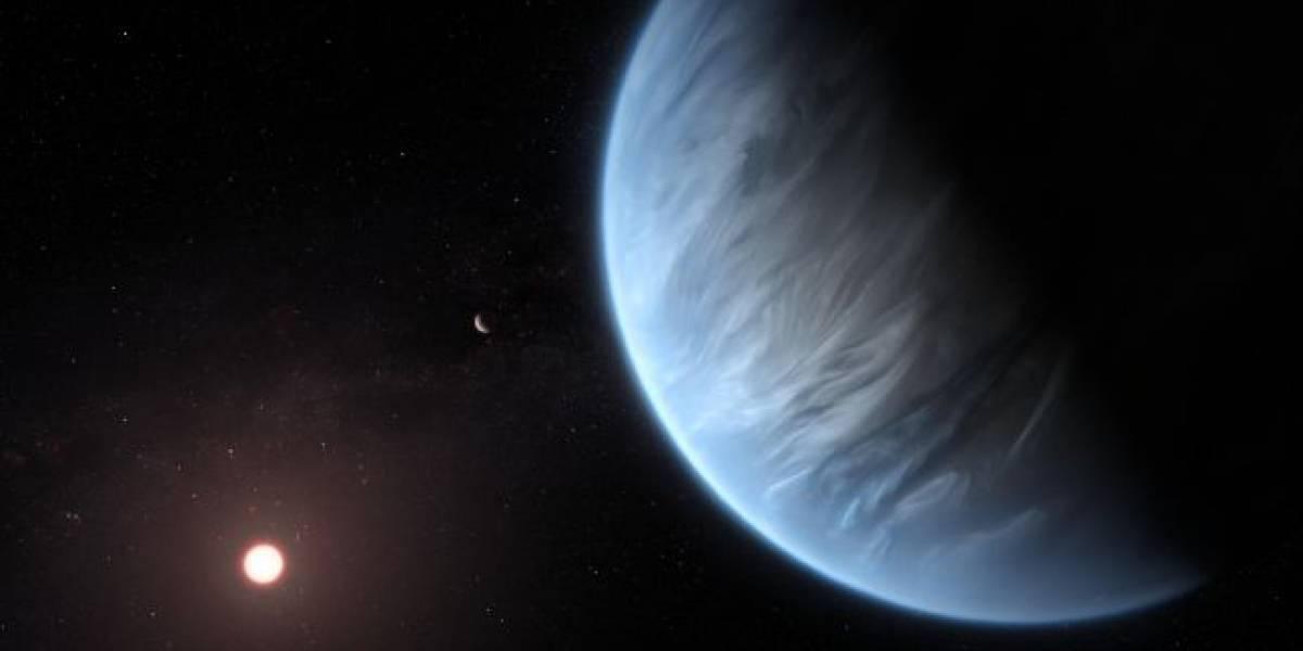 Astrónomos descubren agua en un planeta potencialmente habitable de nuestra galaxia