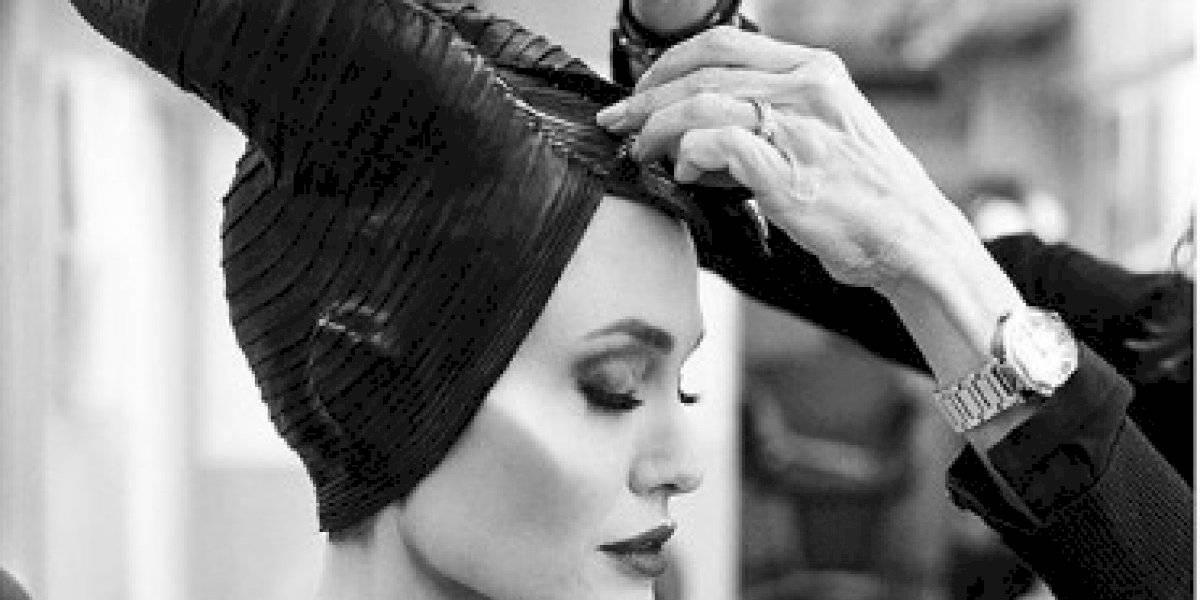 La increíble transformación de Angelina Jolie en Maléfica