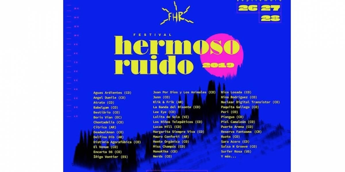 ¡Vuelve el Festival Hermoso Ruido! Estas son las bandas que estarán en la 7ª edición